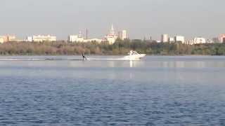 видео водные лыжи москва