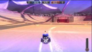 Supersonic Acrobatic Rocket-Powered Battle-Car - Teaching you a little about the game.