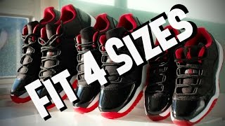 How to Fit 4 Shoe Sizes