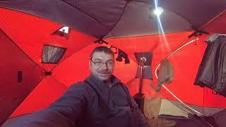 Зимняя рыбалкато холодно то жарко.)))05.02.2019