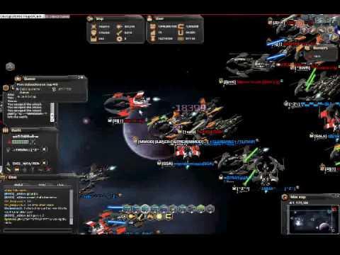 darkorbit big battle MMO VS VRU & EIC