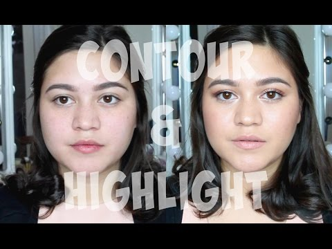 How I contour & highlight (cream and powder) | SarahAyu