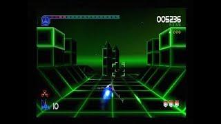 GALAGA - DESTINATION EARTH (PLAYSTATION - FULL GAME)
