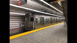 NYC Subway HD 60fps: Railfan Window [RFW] Ride on R11 8013 on The Q Line (96th St. to Coney Island)