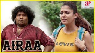 Yogi Babu Latest Hit Comedy Scene | Airaa 2019 Movie | Nayanthara comes to meet Kulappulli Leela