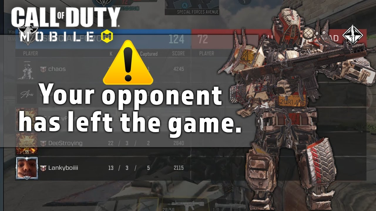 We made the ENTIRE TEAM Rage Quit! COD Mobile DR-H Gameplay