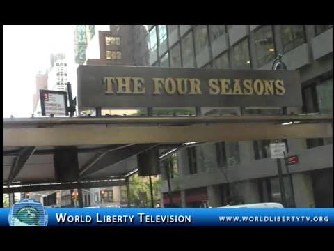 Closing of Historical Four Seasons Restaurant  NYC 2016