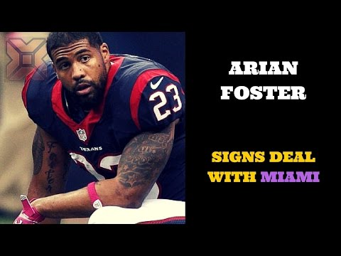 Arian Foster signs deal with Miami - Breaking News Today USA