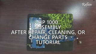 How to open HP Pavilion 15-ab032TX Laptop to clean the fan