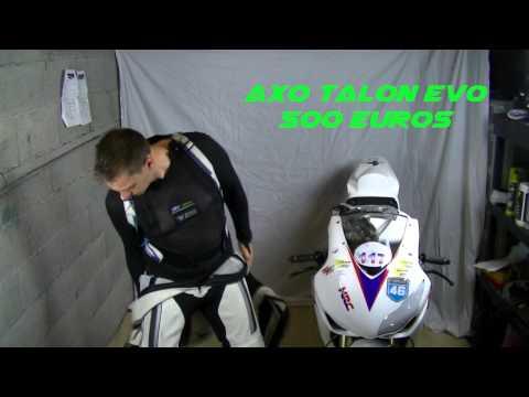 L'Équipement moto sur piste