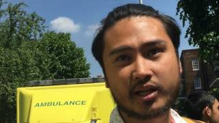 London residents speak on Grenfell Tower fire
