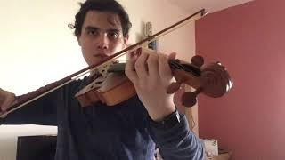 ヴァイオリンで「Lilium - Elfen Lied OST」を弾いてみた