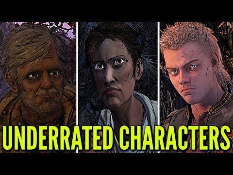Top 10 UNDERRATED CHARACTERS: The Walking Dead: Seasons 1-4 (Telltale Games)