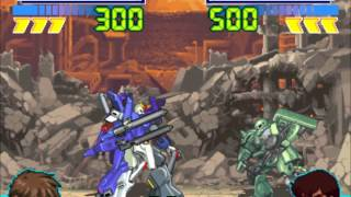 Gundam The Battle Assault Gameplay PS1