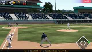 PS Vita - MLB The Show 14 West Prospects vs Central Prospects (Game 1)