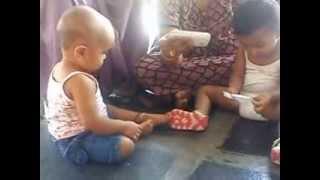 bhavi playing with her sister nitu