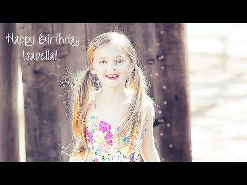 Isabella Kai  'Lovely..Little Old Me' Happy Birthday