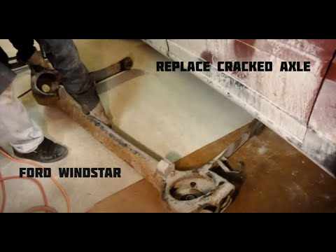 Ford Windstar Rear Axle Cracked Rusted How To Replace