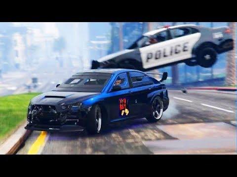 53) GTA IV - Трюки, Аварии и Приколы! (Stunts, Crashes and Fun!)
