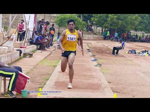 JUNIOR MEN'S U20  LONG JUMP FINAL. 32nd  TAMIL NADU   JUNIOR ATHLETIC CHAMPIONSHIPS -2017