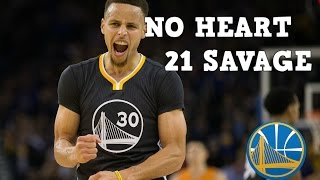 Stephen Curry Mix No Heart 21 Savage
