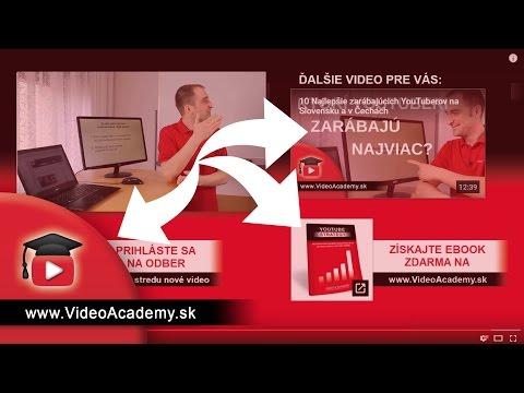 Ako pridať záverečnú obrazovku do YouTube videa