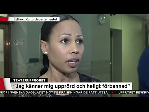 """Alice Bah Kuhnke: """"Jag blev chockad, äcklad och heligt förbannad"""" - Nyheterna (TV4)"""