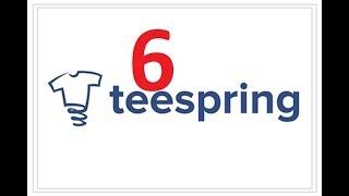 دورة الربح من بيع التيشرتات Teespring t-shirt : كيفية اضافة الديزاين والمعلومات الاضافية للتيشرت
