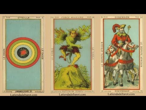 El Libro de Thoth -  Tarot de Etteilla
