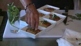 Cooking With Chef Lalanne Sweet Corn Peach Fritters