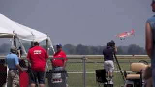Dusty from Disney's Planes at the 2013 Vectren Dayton Air Show