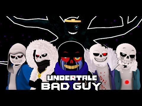 ПЛОХИЕ ПАРНИ В UNDERTALE | Undertale: Second Life - BAD GUY