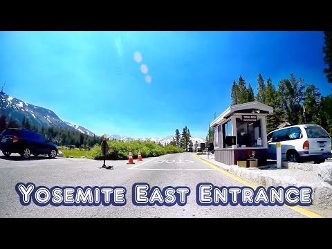 Yosemite East Entrance Drive to Tuolumne Meadows store