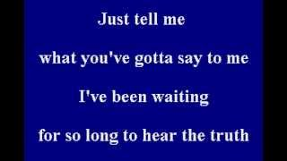 White Town - Your Woman - Karaoke