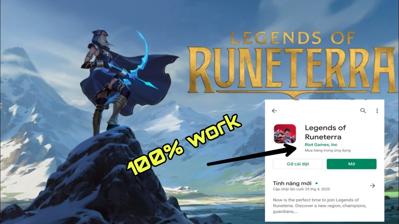 🔥Hướng dẫn chi tiết cách Tải và Cài đặt Legend of Runeterra trên thiết bị Android 2020