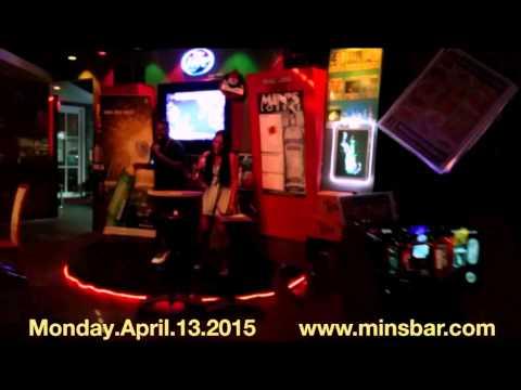 T-Pain Singing Karaoke in Mins Bar Guam