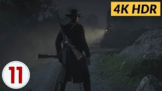 Pouring Forth Oil. Ep.11 - Red Dead Redemption 2 [4K HDR]