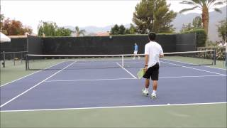 Tennis with Djokovic