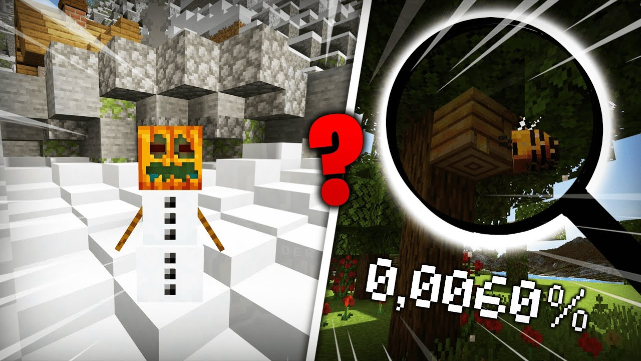 Die Top 3 ABSOLUT coole Minecraft Fakten die du noch nicht wusstest!  (0,0060%) ??