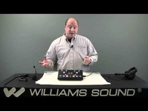 Williams Sound IC2 Language Interpreter Console And Audio Control Center Overview | Full Compass