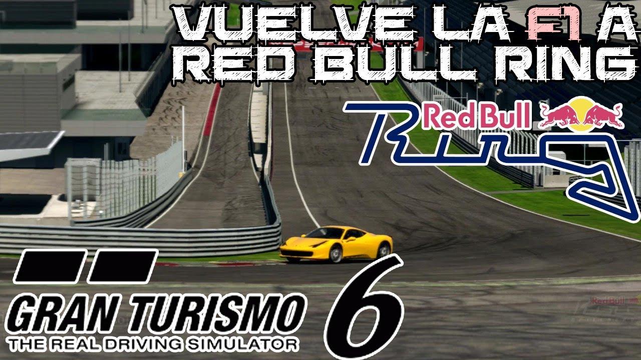 Gran Turismo 6 || Vuelve la Formula 1 a Austria: circuito de Red ...