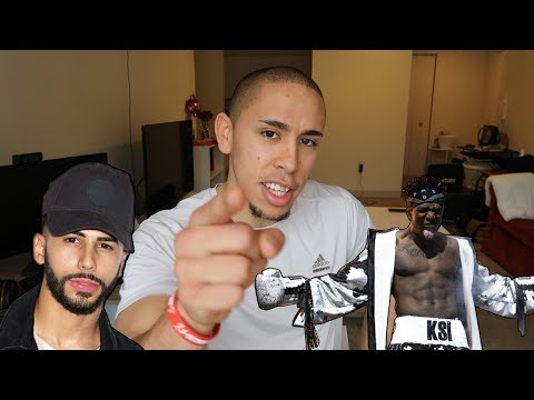 KSI IS NOT SCARED... ADAM SALEH YOU ARE WRONG!
