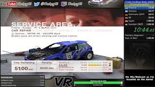 colin McRae Rally 2005 - Championship Speedrun in 1:09:39 Old PB