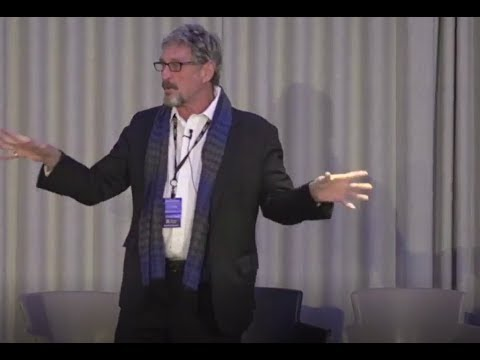 How Bitcoin can easily be Hacked - John McAfee