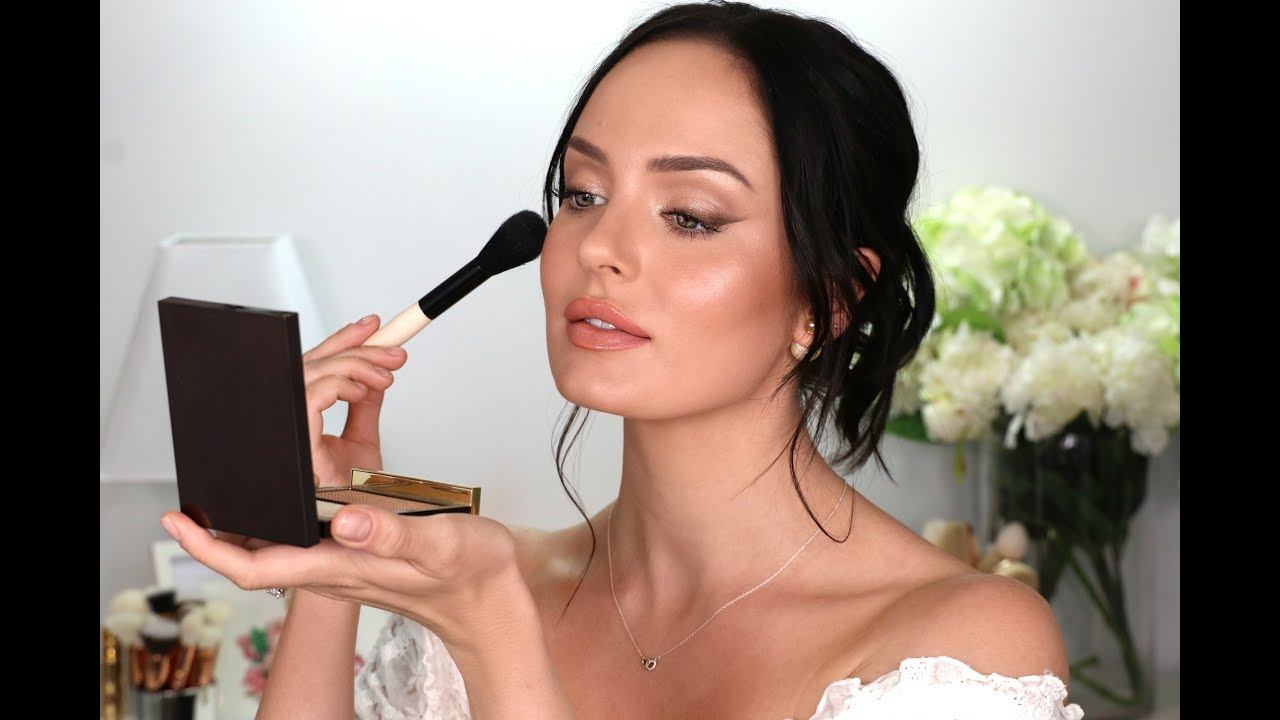My Wedding Makeup! A Bridal Tutorial \\ Chloe Morello ...