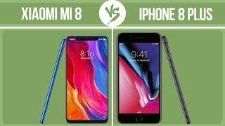 Xiaomi Mi 8 vs Apple iPhone 8 Plus ✔️