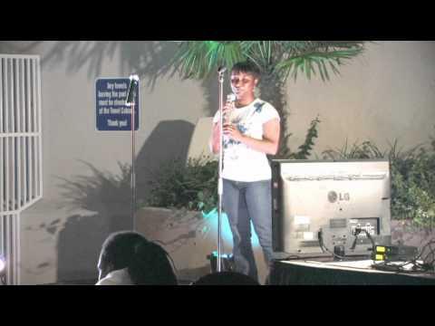 Eulonda, Winner of IP's Quench Karaoke, August 26, 9 o'clock hour