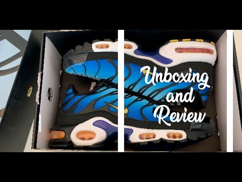 buy popular sleek sold worldwide OG Gradient - Nike Air Max Plus Tn - Unboxing and Review