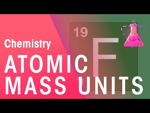 In Depth: Atomic Mass Units | Chemistry for All | The Fuse School