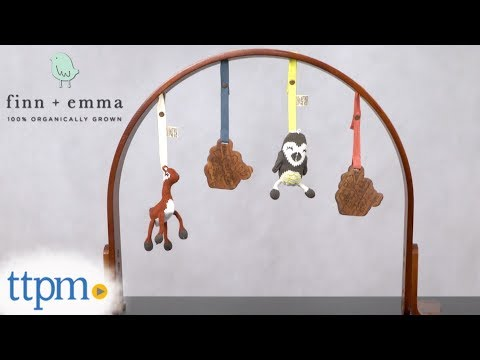 Wood Play Gym from Finn + Emma